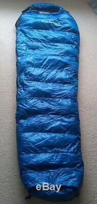 Summiteer Glow Worm 800 down sleeping bag great mountain equipment brand new