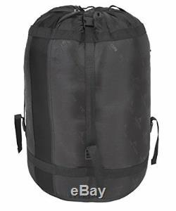 TETON Sports Celsius XXL 18 F Flannel Lined Sleeping Bag Black Right Zip