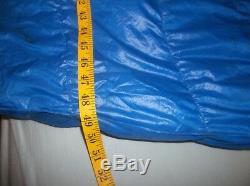 TNF North Face Chrysalis Goose Down Sleeping Bag Rectangular Barrel Quilt USA