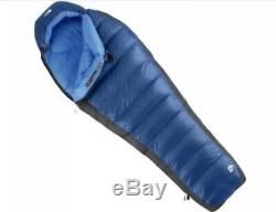 The North Face Blue Kazoo 15° 650 Goose Down Sleeping Bag Camping Hammock