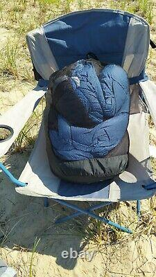 The North Face Blue Kazoo Sleeping Bag Long Left Zip 15F -10C