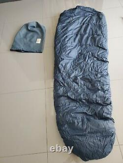 The North Face Brown Label Vintage Down 7ft Blue Mummy Sleeping Bag
