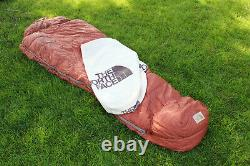 The North Face Brown Label Vintage Goose Down Expedition Sleeping Bag with Sack