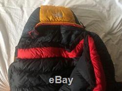 The North Face FoxFire DL DryLoft Sleeping bag LONG Goose down