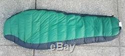The North Face Foxfire 800 Fill Goose Down Mummy Sleeping Bag Ex