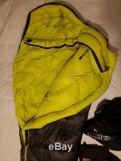 The North Face Inferno 0F -18C Sleeping Bag Asphalt Grey Regular Right Hand