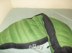 The North Face Maxwell's Demon Foxfire 0F Goose Down Sleeping Bag Reg SUPER SOFT