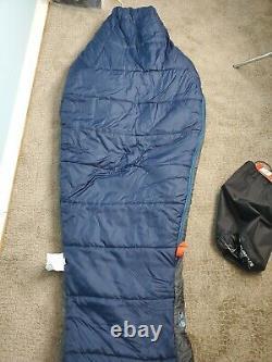 The North Face Sleeping Bag Furnace 20 Cosmic Blue Gray Regular RH $179