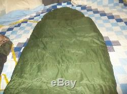 The North Face Super Light NICE! 0 Degree Sleeping Bag Goose Down Green USA