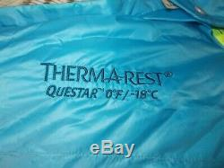 Therm-A-Rest Questar 0F/-18C Down Sleeping Bag in Size Regular