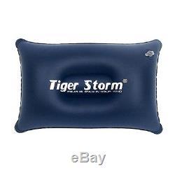 Tiger Storm USA Rectangular Duck Down 3 Seasons Sleeping Bag Black