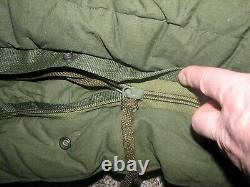 U. S. Army ECW Extreme Cold Weather Sleeping Bag, Genuine US Military, excellent