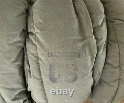 U. S. Army Extreme Cold Weather Sleeping Bag Genuine US Military VG