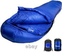 Ubon 100% Goose Down Sleeping Bag 10 F Degree Ultra Light Sleeping Bag Camping
