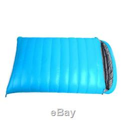 Ultralight Envelope Double Down Feather Sleeping Bag For Outdoor Camping Hiking
