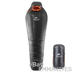 Ultralight Warm 4 Season Mummy Sleeping Bag Max -4F for Outdoor Climbing Camping