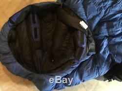Valandre Shocking Blue Mummy Down Sleeping Bag