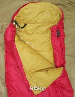 Vintage 2 Lb. GOOSE DOWN Eddie Bauer 1977 Expedition Sleeping Bag, Weight 3.8 #