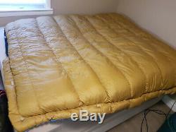 Vintage Down Sleeping Bag Winter Comfotrer