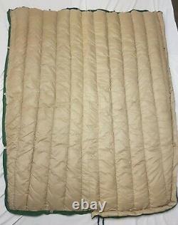 Vintage Eddie Bauer Goose Down Sleeping Bag Totem Mummy Excellent Condition
