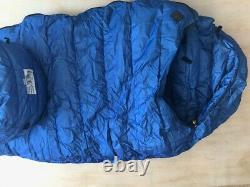 Vintage Marmot Sleeping Bag GORETEX GORE TEX. Goose down Long -20°F