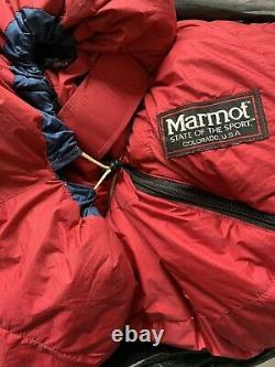 Vintage Marmot Sleeping Bag, Long! Excellent Condition! $200 Obo