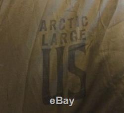 Vintage US Military Down Mummy Sleeping Bag M-1949 ARCTIC System + Shell + Bag