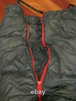 Vintage Woods Arctic Sleeping Bag Grey Duck Down and Feathers Sleeping Bag LOOK