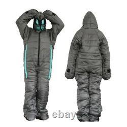 Wearable Sleeping Bag Comfortable Durable Camping Sleeping Pouch Outdoor Alien