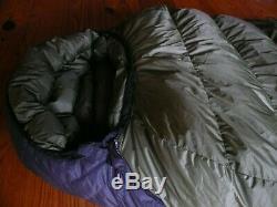 Western Mountaineering -10 Dakota/Lynx GoreTex Sleeping Bag Pristine Condition