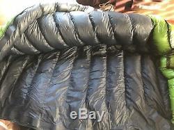 Western Mountaineering 10 Degree Versalite Sleeping Bag Moss Green 6FT / Left