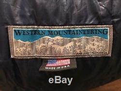 Western Mountaineering -10 Lynx MF Down Sleeping Bag Reg
