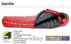 Western Mountaineering AlpinLite 20°F Sleeping Bag (UltraLite + Wide)