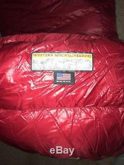 Western Mountaineering Alpinelite 20 Degree Down Sleeping Bag 6 Left Zip