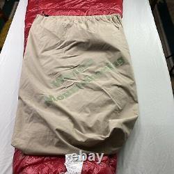 Western Mountaineering Alpinlite 20 degree Down sleeping bag 60 barely used