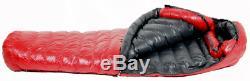 Western Mountaineering Alpinlite Alpinelite 20 Red 6 ft, Right Zip Sleeping Bag