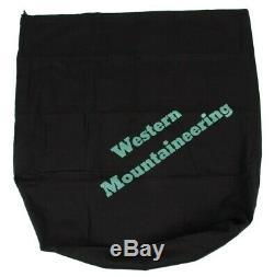 Western Mountaineering Alpinlite Sleeping Bag 20 Degree Down 6ft/LZ /48296/