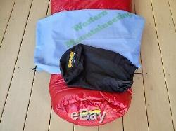 Western Mountaineering Alpinlite sleeping bag 6'0 left zipper Brand new with tags