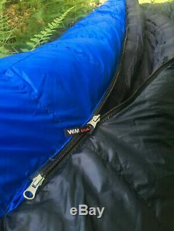 Western Mountaineering Antelope GWS Sleeping Bag 5F 6'6 Excellent Condition