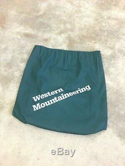 Western Mountaineering Antelope Gore DryLoft Down Sleeping Bag