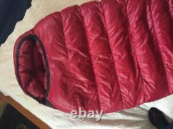Western Mountaineering Apache MF 15F Degree Down Sleeping Bag 56 Right Zip