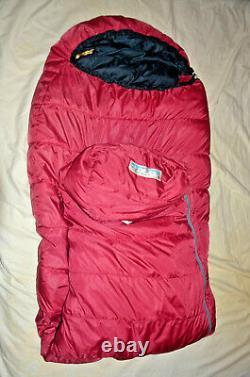 Western Mountaineering Apache MF 15F Degree Down Sleeping Bag 6'0 left zip