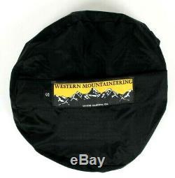 Western Mountaineering Apache MF Sleeping Bag 15 Degree Down 6' 6/LZ /48750/