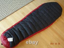 Western Mountaineering AplinLite Sleeping Bag 66 Left Zipper, Just Washed