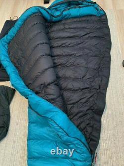 Western Mountaineering Badger Dryloft down sleeping bag, pre-owned, great