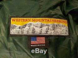 Western Mountaineering Badger MF Sleeping Bag 15 Degree Down /34951/