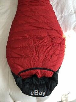 Western Mountaineering Bison -40F 6 LZ Down Sleeping Bag Excellent Condition