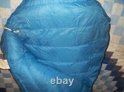 Western Mountaineering Bristle Goose Down Sleeping Bag Goretex Vintage -10 USA