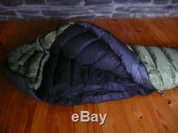 Western Mountaineering Dakota/Lynx -5 down sleeping bag Goretex Excellent Cond