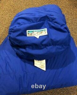 Western Mountaineering Dakota MF -5 Degree Sleeping Bag Right Zip Reg Length